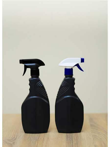 عبوات بلاستيك للمنظفات